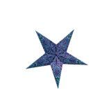 Sternenlicht Papierstern Paris Lila 5 Zackig Baby