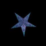 Sternenlicht Papierstern Paris Lila 5 Zackig Baby Nachts