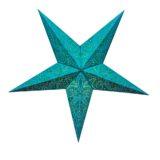 Sternenlicht Papierstern Paris Mint 5 Zackig