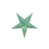 Sternenlicht Papierstern Paris Mint 5 Zackig Baby