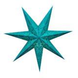 Sternenlicht Papierstern Paris Mint 7 Zackig