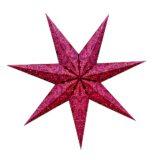 Sternenlicht Papierstern Paris Rot&Rosa 7 Zackig